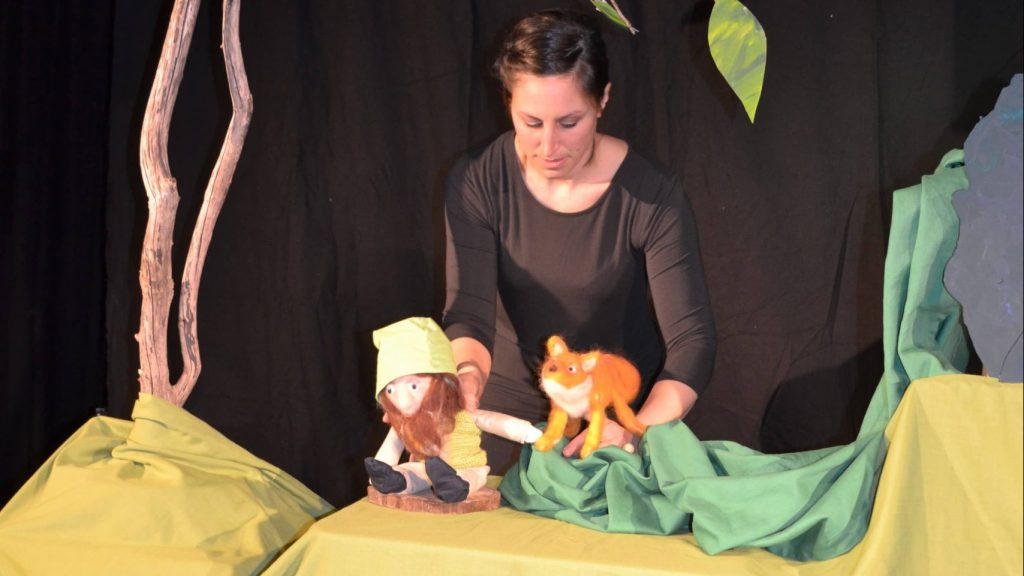 Kindermusiktheater Bühne
